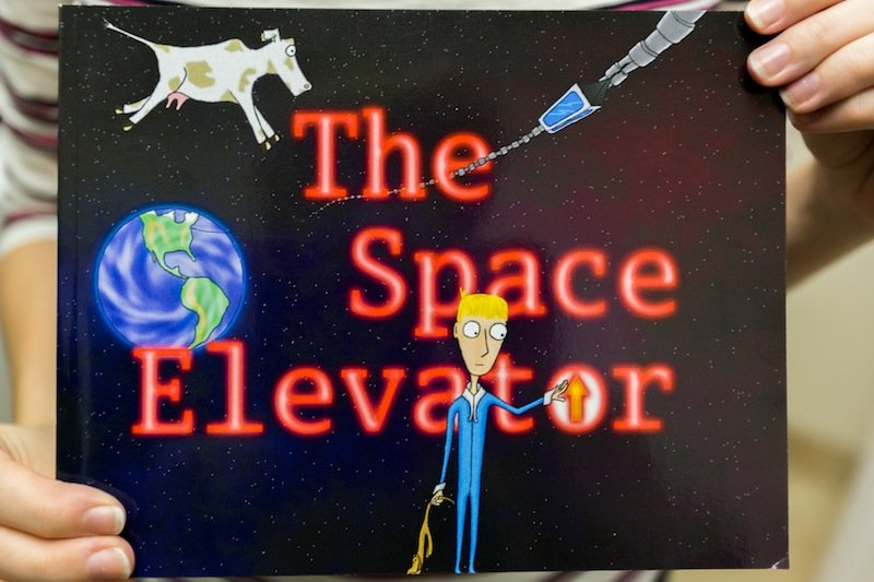 The Space Elevator in hand